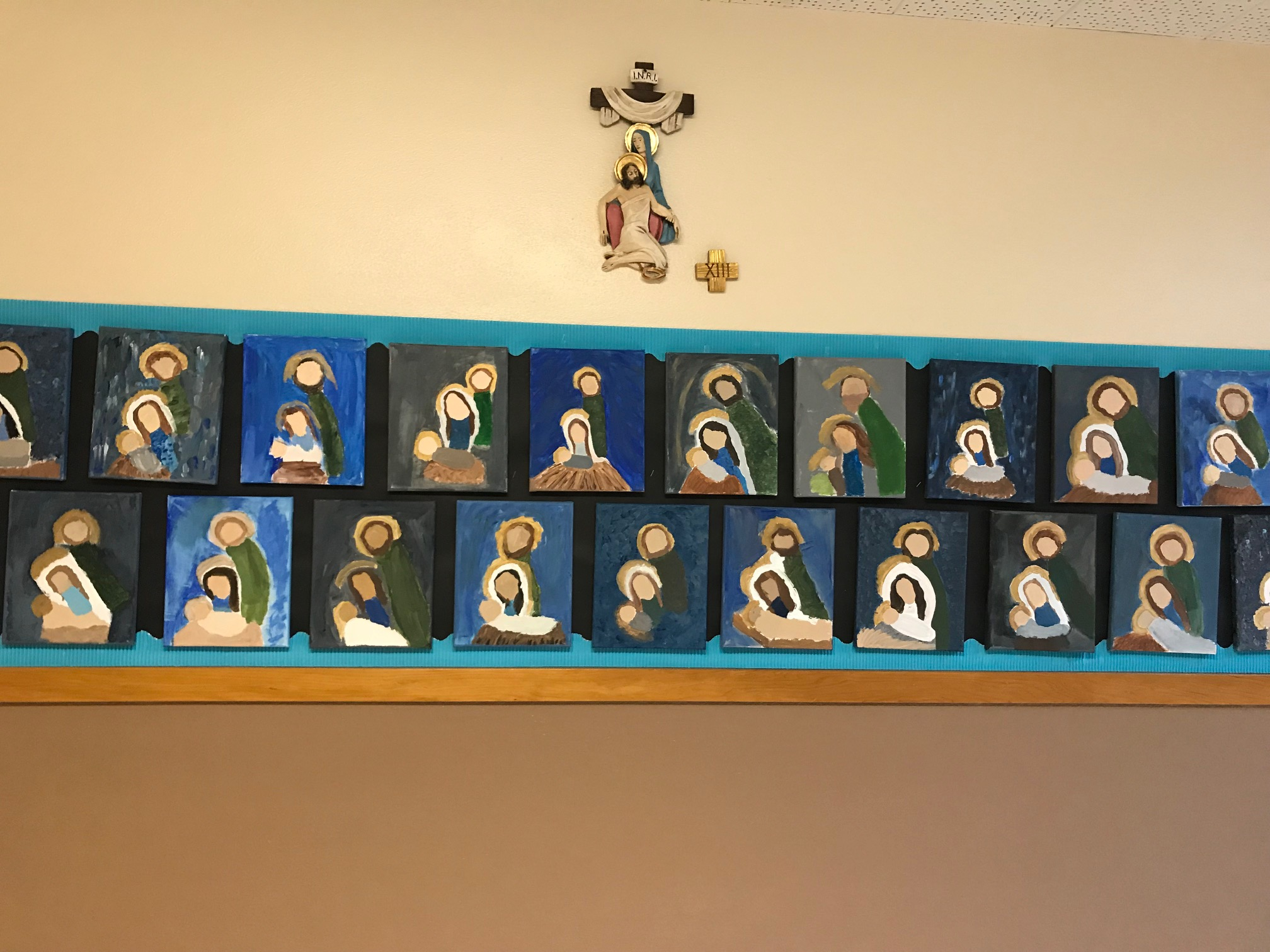 Art Literacy at Our Lady of Lourdes Holy Family