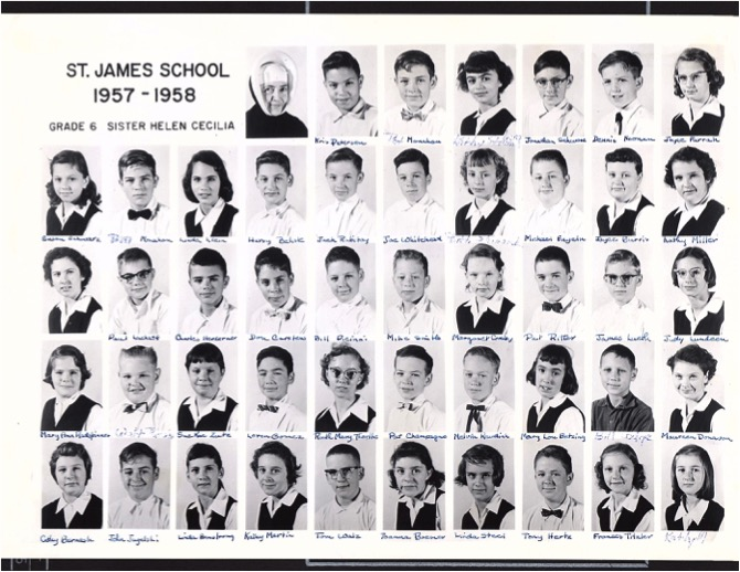Grade 6, 1960 Our Lady of Lourdes Catholic School