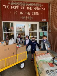 Our Lady of Lourdes Catholic School Student Service Day