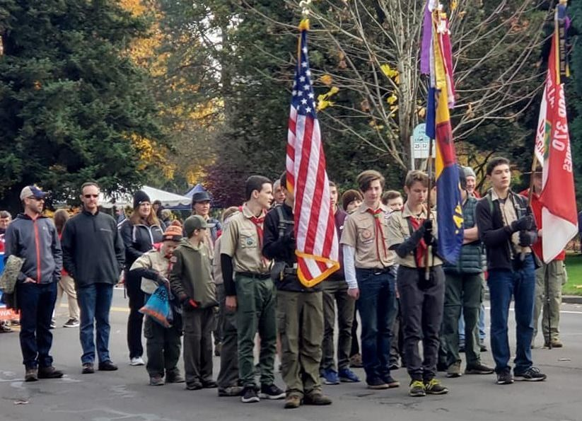 Boy Scout Troop Our Lady of Lourdes Catholic School